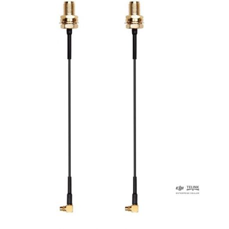 DJI FPV Air Unit MMCX elbow to SMA Cable