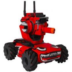 Robomaster S1 - barevné polepy (Red shark)