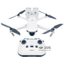 MAVIC AIR 2 - Sada nálepek (uhlíkový design) (White)