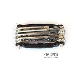 11 v 1 kompaktní nástroje (Verze 1) (Černá)