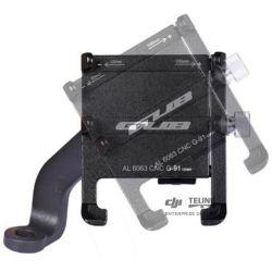 Aluminum Alloy Smartphone Bracket vč. nabíječ (Black)