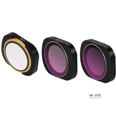 Pack 3 Lens Filters pro Osmo Pocket 1/2