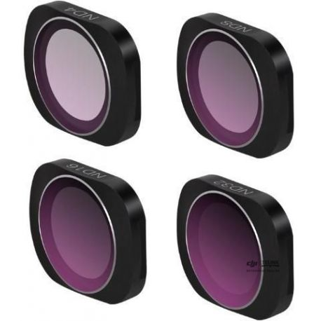 Pack 4 Lens Filters pro Osmo Pocket 1/2