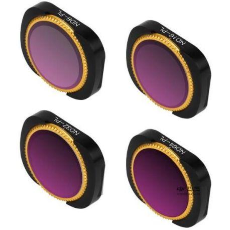 ND-PL Pack 4 Lens Filters pro Osmo Pocket 1/2