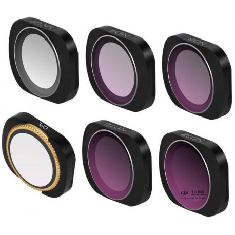 Pack 6 Lens Filters pro Osmo Pocket 1/2