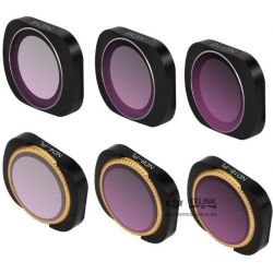 ND-X Pack 6 Lens Filters pro Osmo Pocket 1/2