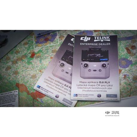 Mapa DJI FLY/ letecká mapa