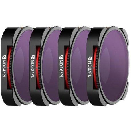 Freewell sada čtyř polarizačních ND filtrů Bright Day pro GoPro Hero 9 Black (4K)