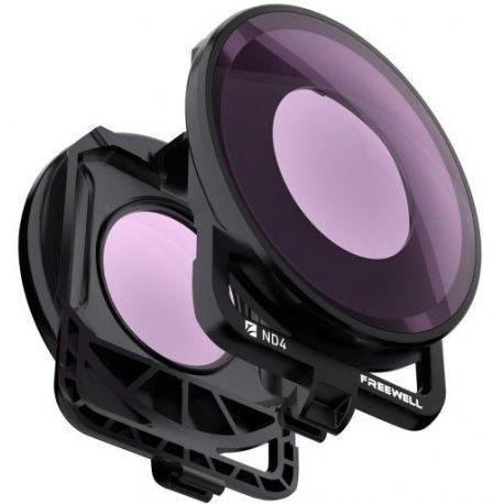 Freewell ND4 filtr pro Insta360 One R 360° objektiv
