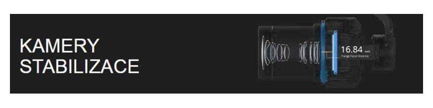 Kamery a stabilizace
